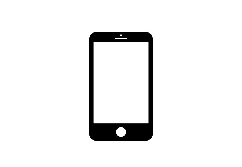 mobile phone icon for telehealth