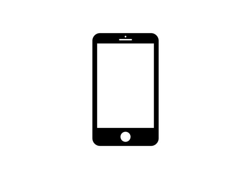 mobile phone icon for telehealth